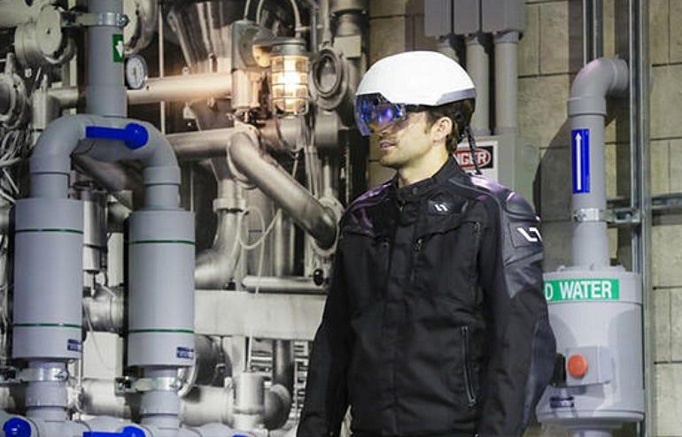 Intel's X-ray helmet