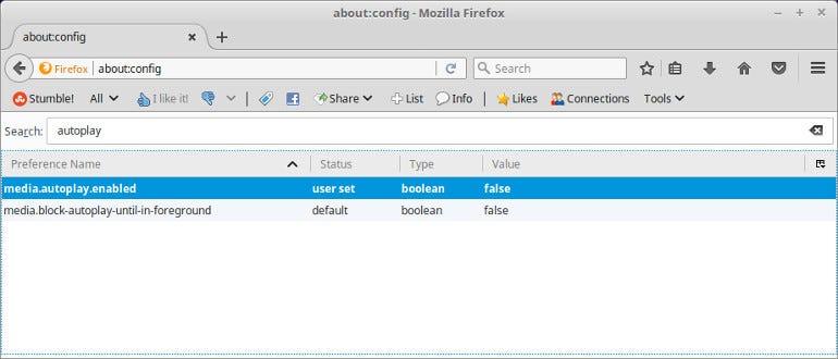 Firefox block autoplay