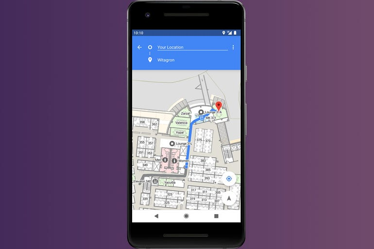 Android P - Indoor positioning with Wi-Fi RTT
