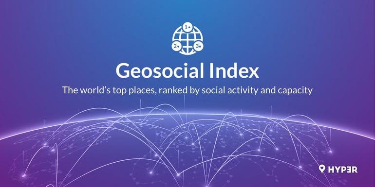 Hyp3r's Geosocial Index