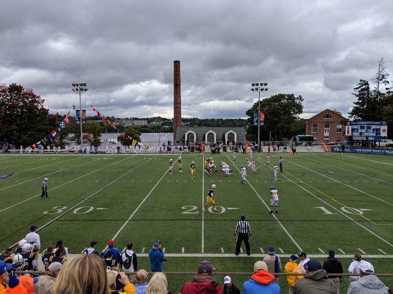 Coast Guard Academy football field