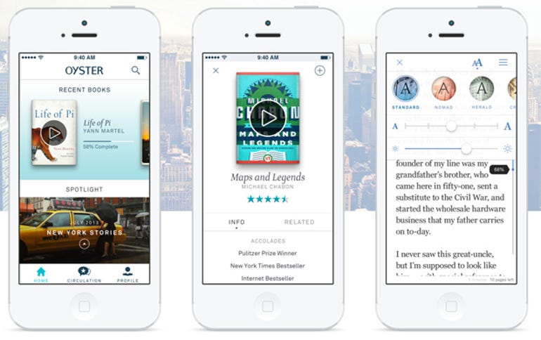 Oyster Review: All-you-can-read ebooks for $9.95 per month - Jason O'Grady