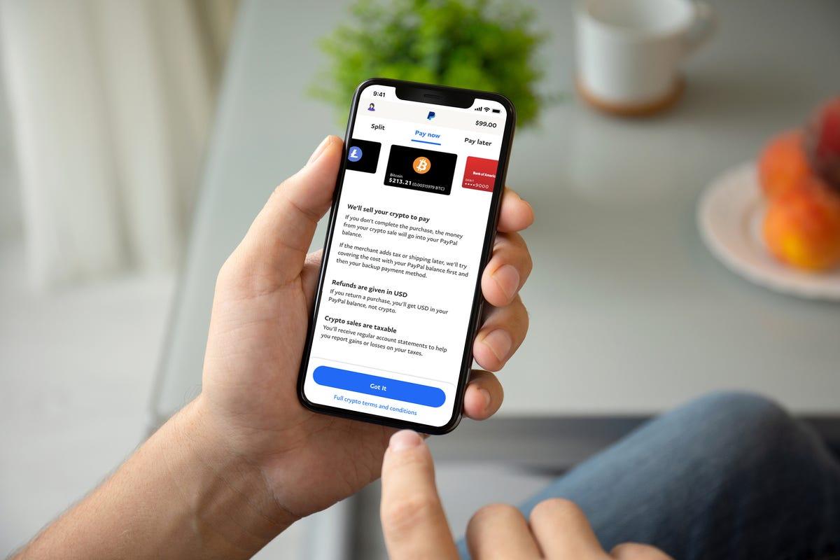Vidéo : Paypal, il est désormais possible de payer en cryptomonnaie pour certains achats aux Etats-Unis