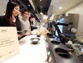 LG installs noodle making robot in restaurant
