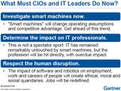 Smart machines: Will they take your job?