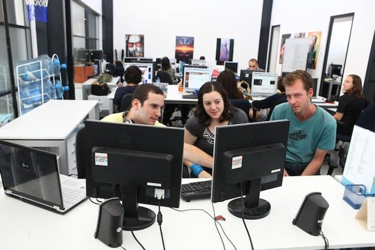 The ThetaRay team at work