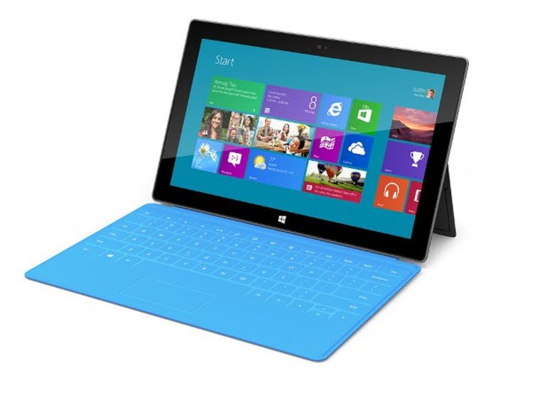Microsoft Surface RT: Desirable because it's not my work PC, but better than a tablet