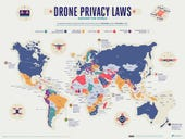 Stunning maps visualize drone laws around the world