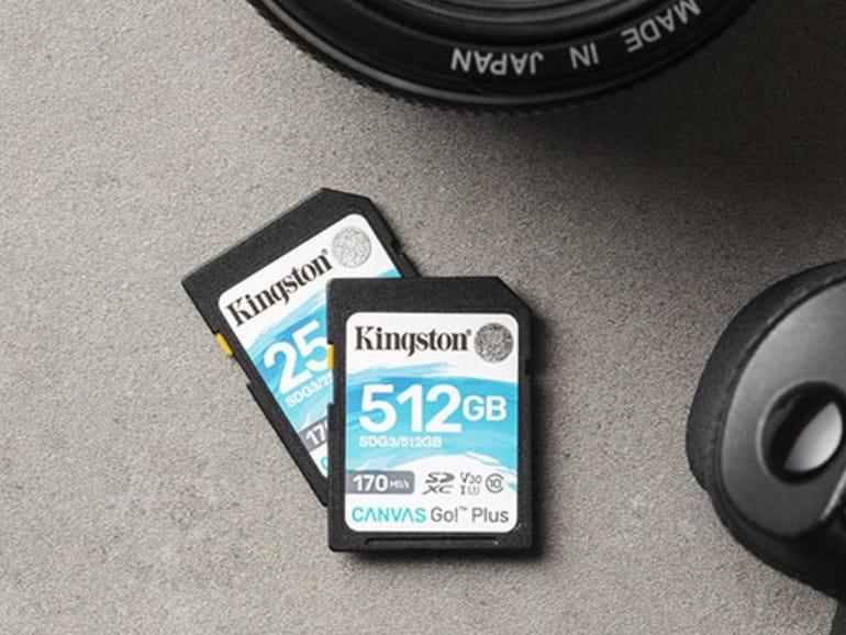 Canvas Go! Plus SD card
