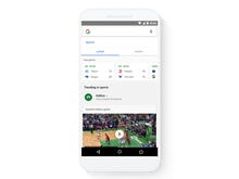 Google mobile app, website redesign adds search shortcuts