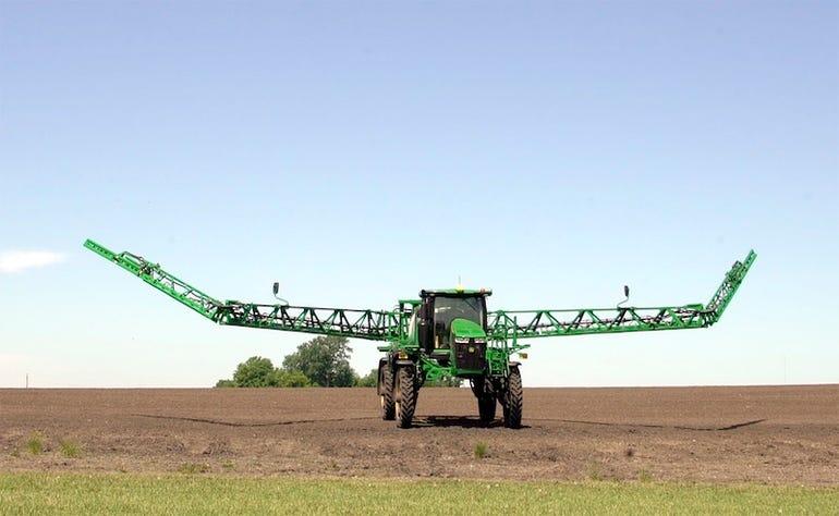 John Deere crop sprayer