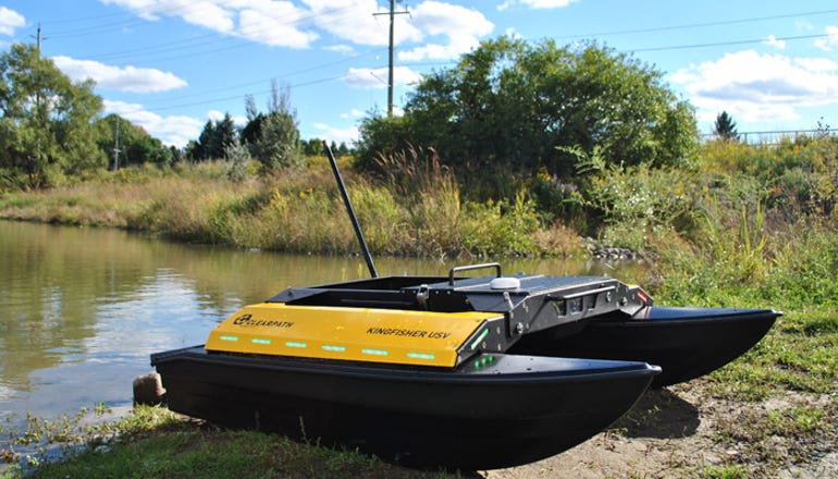 Kingfisher unmanned surface vessel