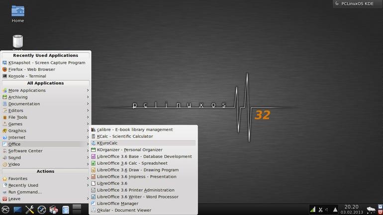 PCLinuxOS 2013.02 KDE