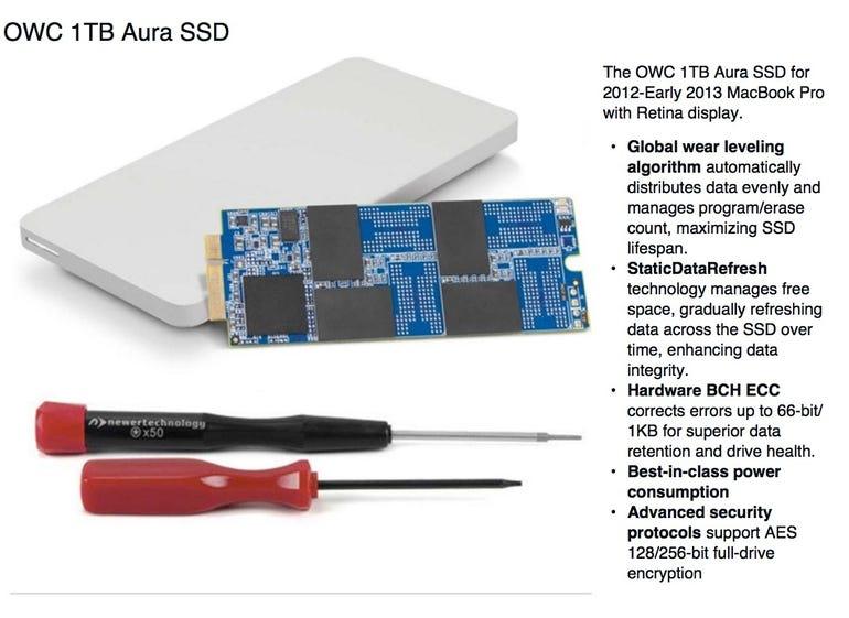 OWC 1TB Aura SSD