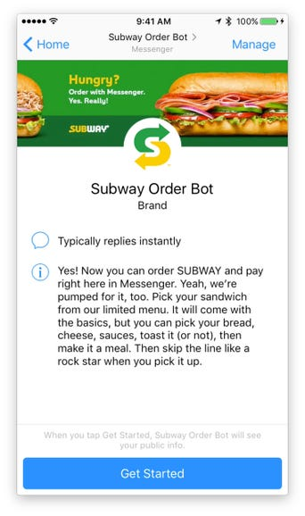 Getting Started with Subway