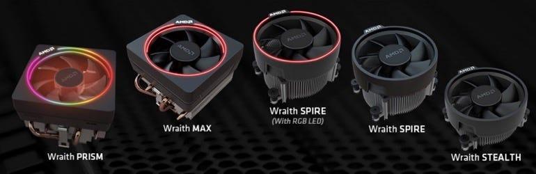 AMD Ryzen coolers