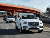 Volvo will test driverless cars on London roads next year