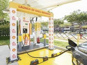 Shell to roll out electric vehicle charging service at stations across Singapore
