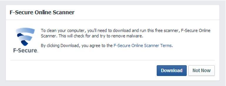 Facbook Online scanner