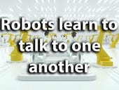 Robots learn to talk to one another