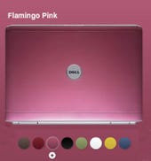 Dude, that Dell's flamingo pink