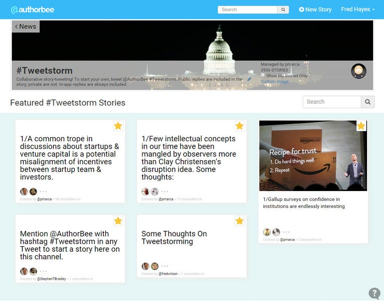 AuthorBee organizes your Twitter timelines by story topics ZDNet