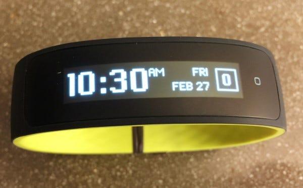 HTC Grip home screen