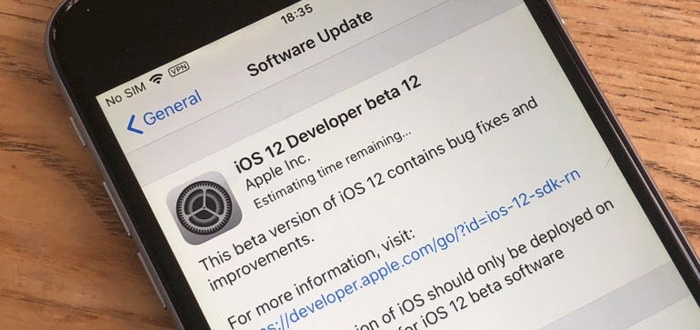 iOS 12 popup bug patched