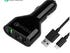 Zenoplige quick charge 3-port charger