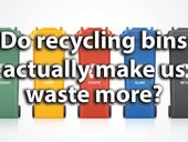 Can recycling bins actually encourage us to waste more?
