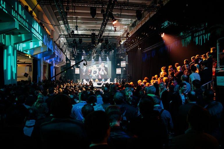 The main stage at Slush