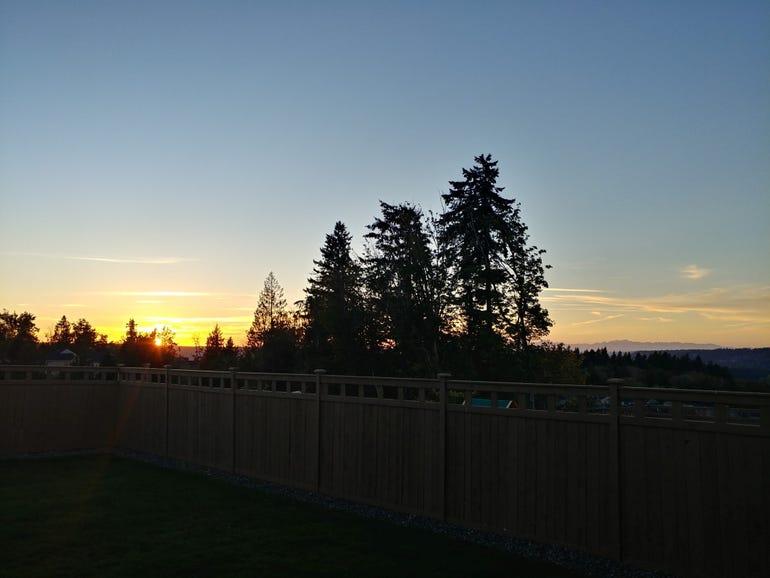 Moto G4 Play sunset