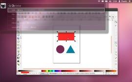A first look at Ubuntu's new Head-Up Display desktop.