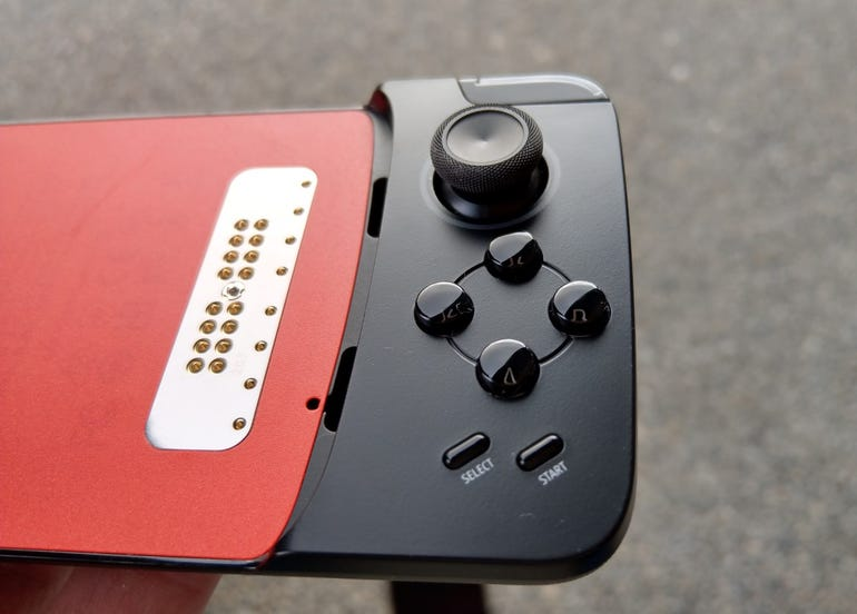 Right side of the Gamepad