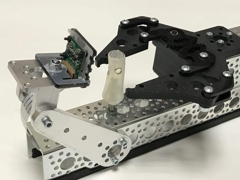 Stent-testing robot