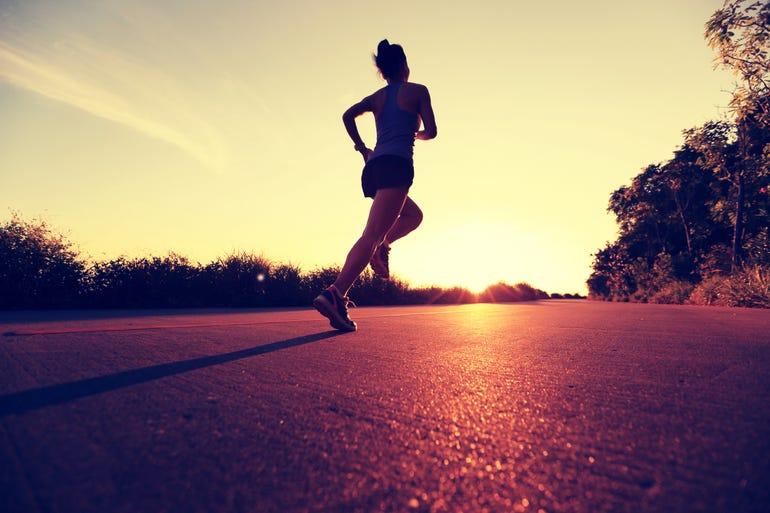 running to the future