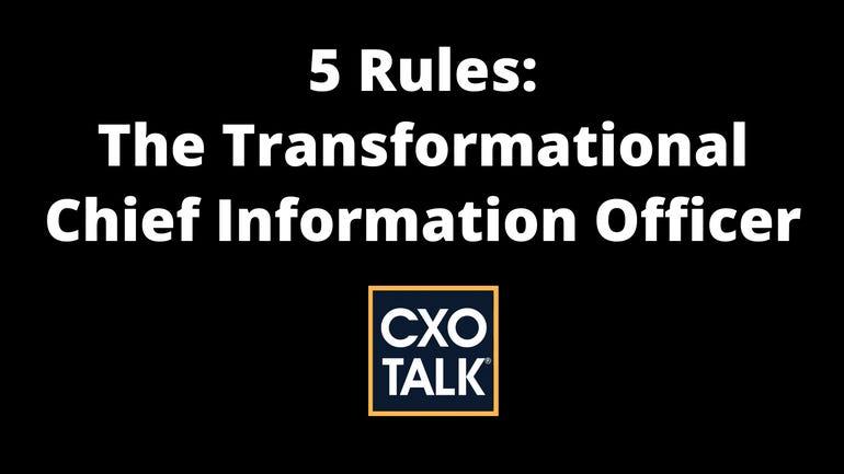 Become a transformational CIO
