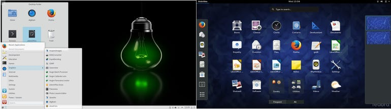 Fedora and openSuSE