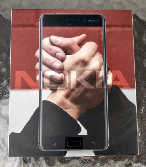 Nokia 6 retail package