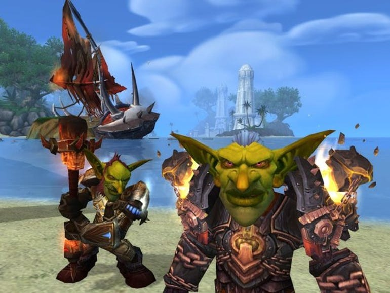 A screengrab from World of Warcraft: Cataclysm