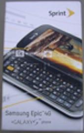 Image Gallery: Samsung Epic 4G retail box