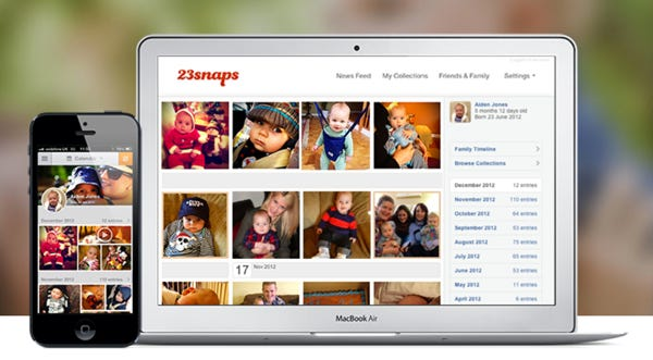 23snaps - Instagram for parents - Free