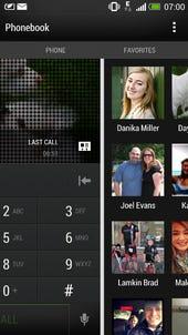 HTC One uses Windows Phone panorama UI in an elegant way