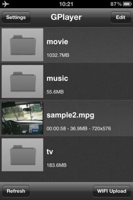 GPlayer fills the iOS void left by VLC - Jason O'Grady