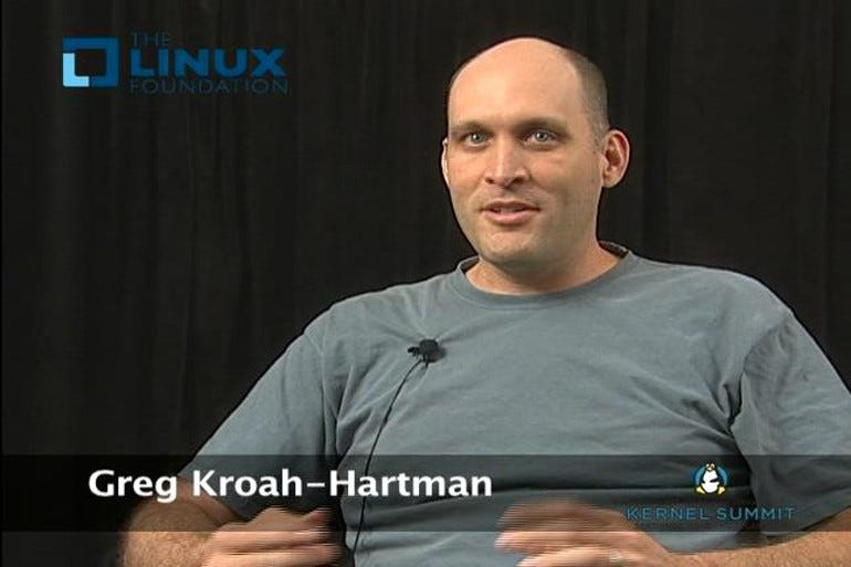 Greg Kroah-Hartman, senior Linux kernel developer