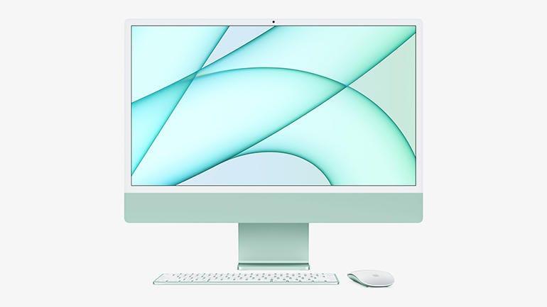 Apple iMac 24-inch (M1, 2021) review: Slim, power ...