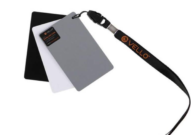 Gradus Group's Vello White Balance Card Set for Digital Photography