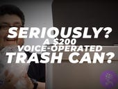 Seriously? A $200 voice-operated trash can? Surprise: It's not garbage