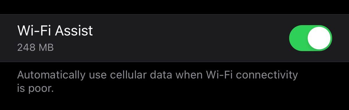 Wi-Fi Assist