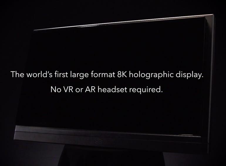 It's an 8K 3D display